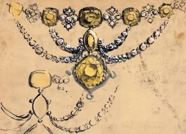 蒂芙尼珠宝展厅平面图