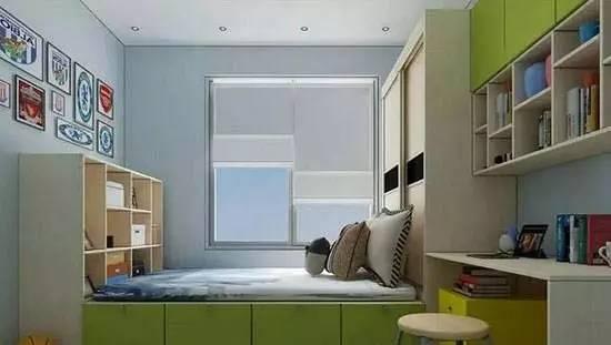 容量很大.移门衣柜方便孩子的使用,书桌吊柜组合跟着宝贝一起成