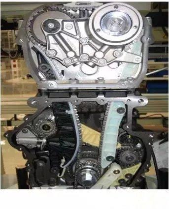 众迈腾1.8T发动机更换正时链条张紧器后发动机怠速抖动