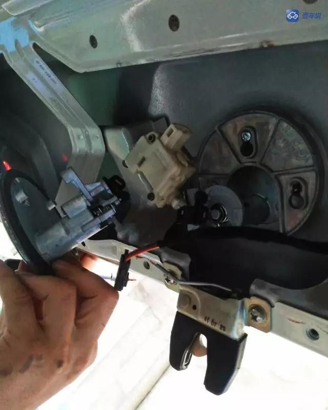 汽车锁芯结构图解