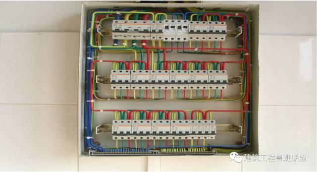 电控箱内部结构图