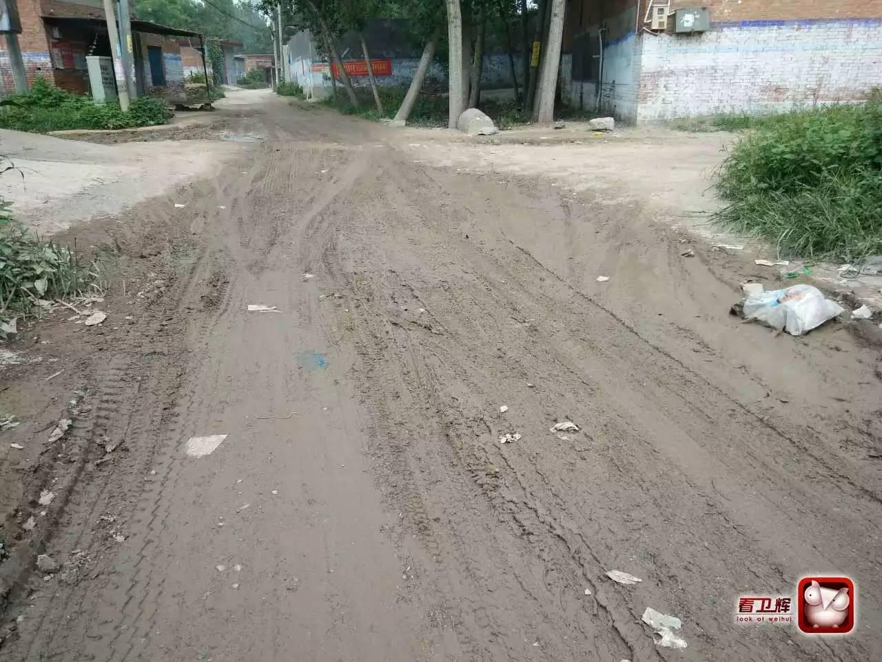 因为蹚水村民的关节炎都犯了 后河镇李兴村道路啥时间能修