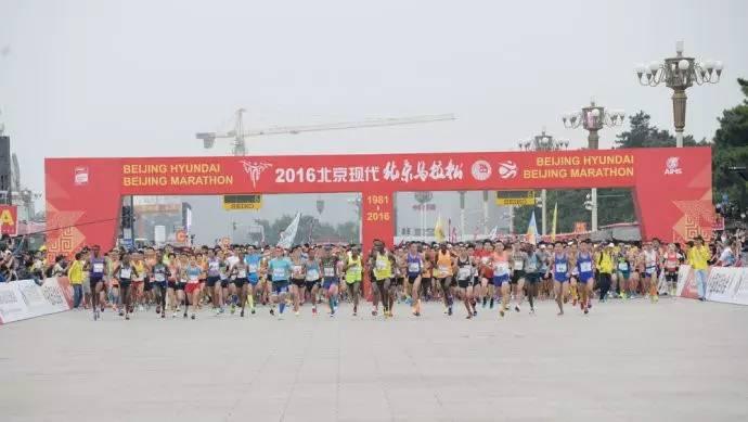 2017北京马拉松志愿者招募图片
