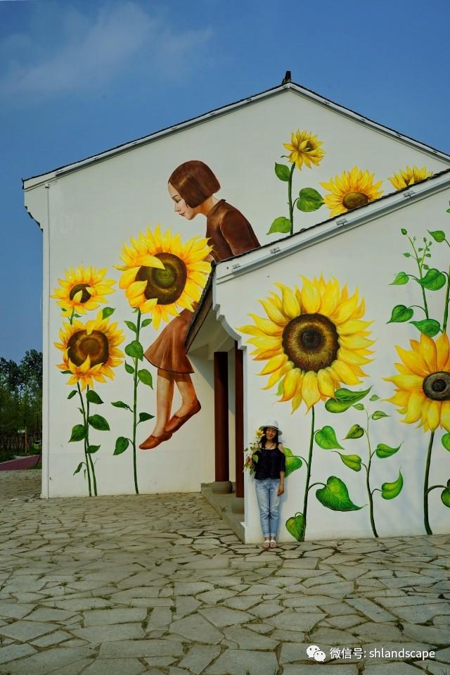 【上海浦江郊野公园专题(二)】您知道沪上郊野公园独家首创的涂鸦墙绘