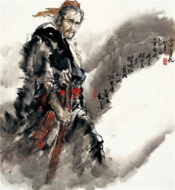 品读名家孙敬会的人物画艺术