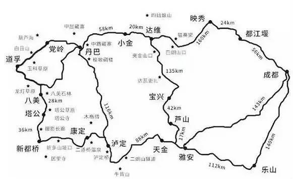 旅游 正文  自驾线路 成都→小金县→丹巴县→边耳乡→党岭→道孚