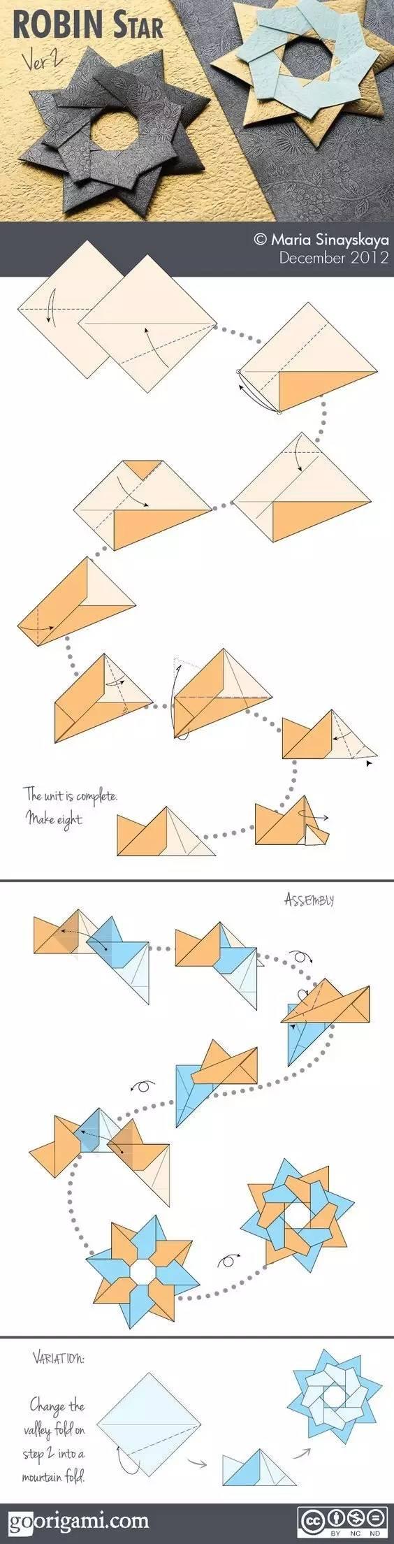 大人孩子都能一起玩的折纸,几张彩纸就够玩一天啦!