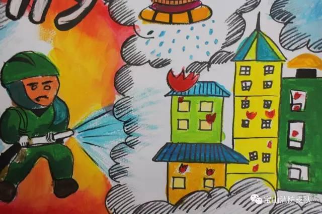 大赛|第二届全国儿童消防绘画作文大赛 开始啦!图片