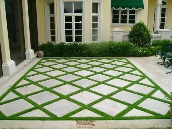 庭院铺砖设计 欧式