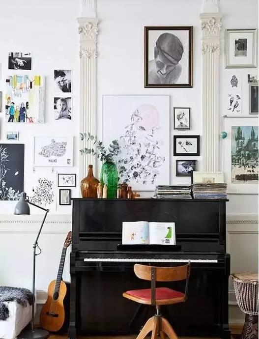 你的钢琴是什么颜色的