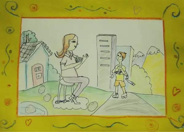 好家风 好家训 少年儿童绘画征文作品开始投票啦 2
