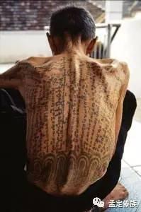 傣族传统纹身图片