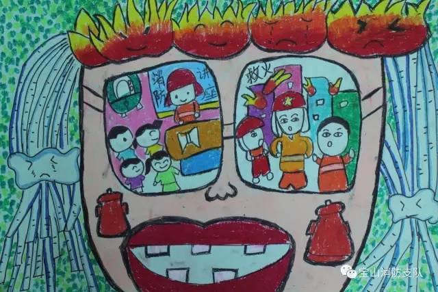 大赛 第二届全国儿童消防绘画作文大赛 开始啦