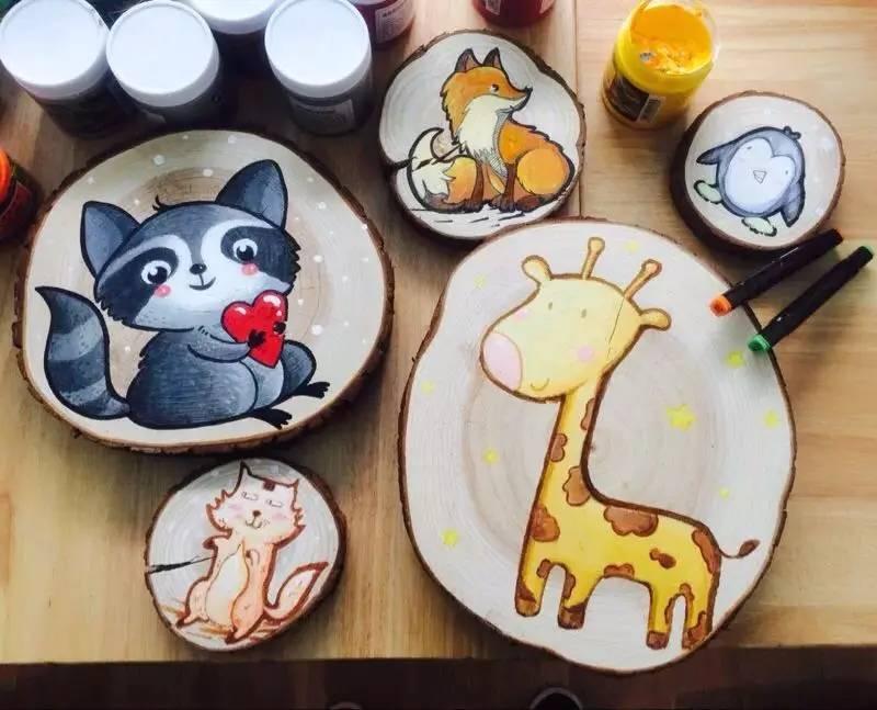 木片画-免费福利 6大创作小课堂 木偶表演 故事会 童趣市集 万众瞩目的