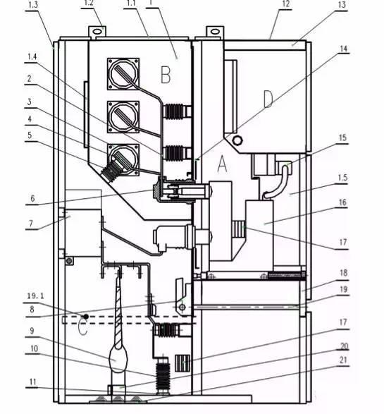 二次闭锁回路完整性:检查端子排、插件、机构内部二次回路情况 断路器未储能:见10kV断路器未储能故障部分 底盘车联锁未解除:小车已摇到位但位置指示不正确,见10kV 断路器底盘车故障部分 闭锁回路(闭锁线圈、线路板、辅助开关)问题查找、判断见下表:  (二)手动可合、电动拒合故障 1、缺陷原因分析: 二次回路完整性 合闸回路闭锁辅助开关烧损 合闸回路储能辅助开关烧损 合闸回路整流桥烧坏 合闸线圈烧坏 断路器受联锁回路限制 2、缺陷原因判断及处理: 二次合闸回路完整性:检查端子排、插件、