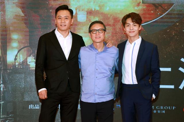 《建军大业》刘烨拒当特型演员 自嘲比雷佳音头大