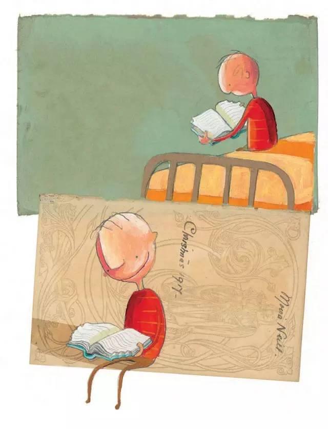 ,他无意中拿起一本曾被自己咬过一口的书,这次他翻开了书,发现自