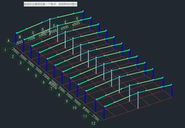 模型的图纸逐一进行了分析和总结, 重点说明了钢结构节点图纸读图方法