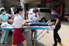 深圳健安医院联合市120急救中心 胸痛患者 急救演练圆满成功