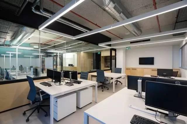 办公空间:以色列科技公司现代风格办公室设计