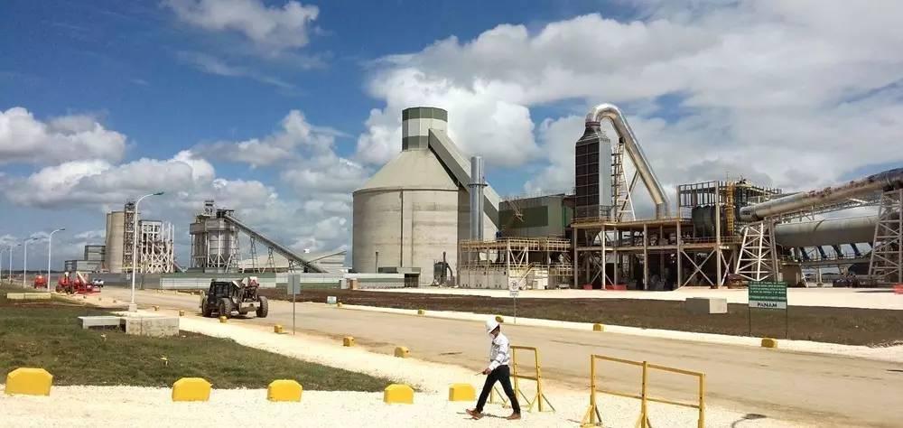 拉丁美洲最好的水泥厂 ,中信重工干成了图片