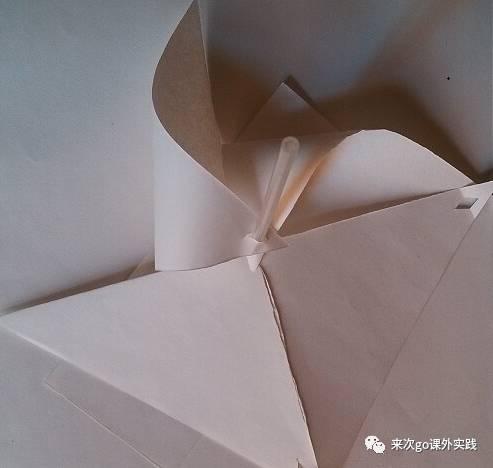 亲子手工 美丽的纸风车