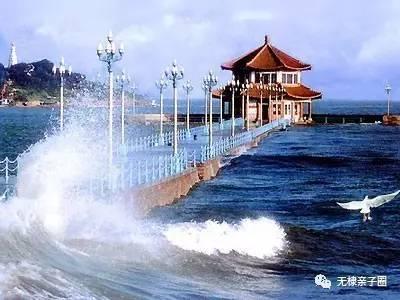 碧海蓝天;【乘船海上观光】尽情享受海浪的涌动,海上看青岛,栈桥,小