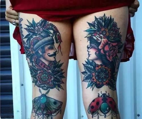 腿长不够还要纹身来凑,这些花腿女我看一眼就爱上了!