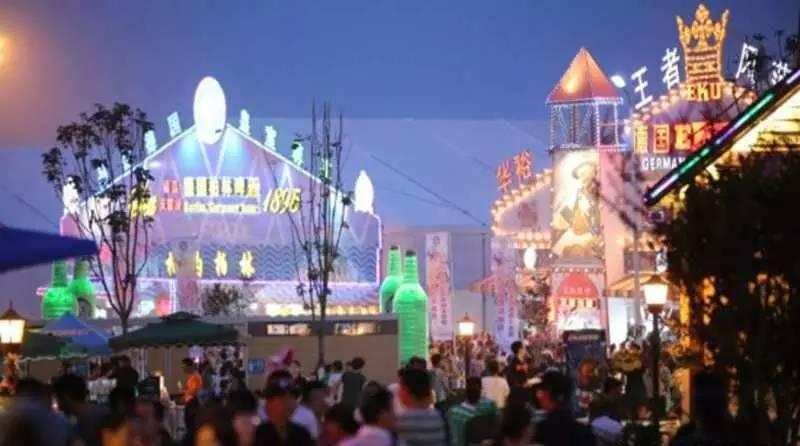 青岛国际啤酒节7月28日开哈,这回共设六大会场
