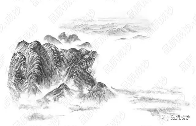 国画 简笔画 手绘 素描 线稿 640_412
