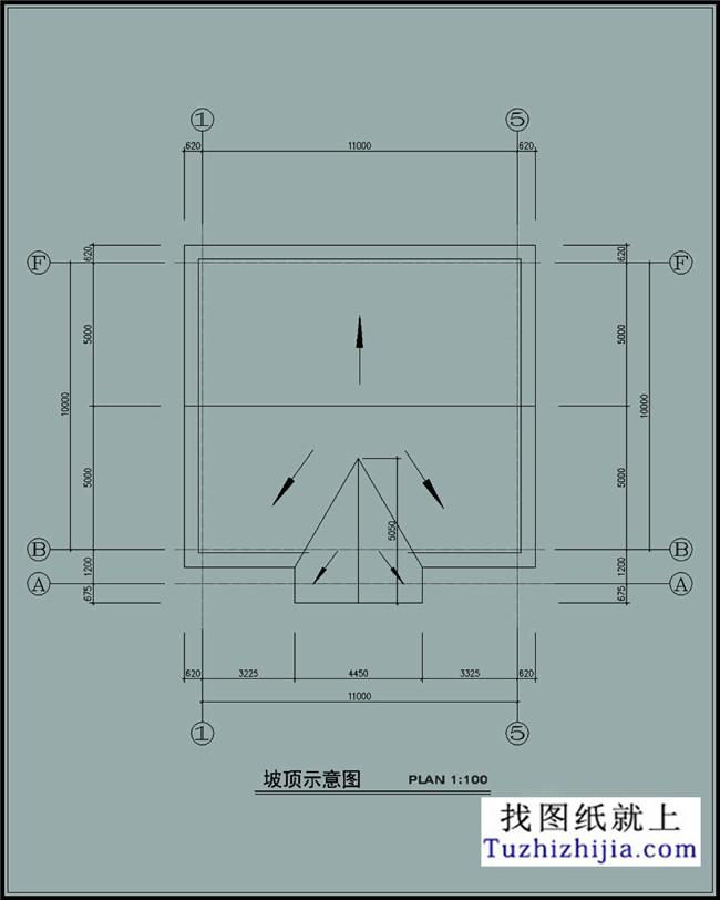 110平米农村房屋图纸