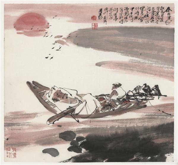 从新浙派到新写意——王涛的水墨人物画之变图片