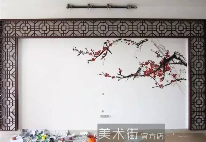 【墙绘教程素材第一品牌】墙绘素材 手绘墙素材 电视