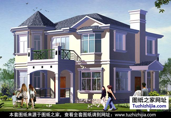 最受欢迎的欧式二层小别墅设计图,建过得都说好!