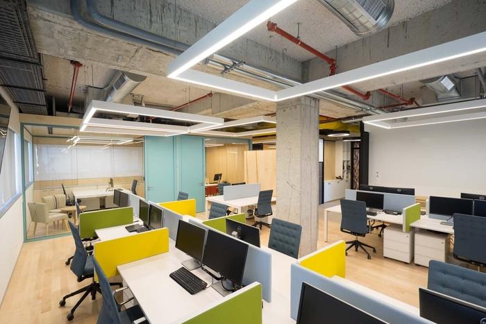 1200平简约风格办公室装修设计