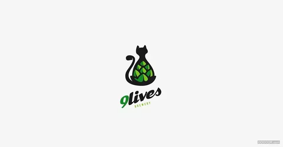 【 大设计 】82个飞禽走兽动物logo设计