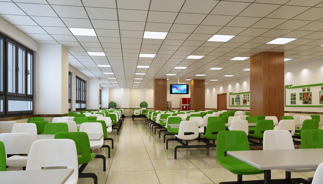 合肥工厂职工食堂装修设计