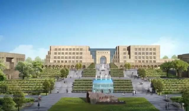 高校基建 延安大学新校区建设,传承地域建筑特色
