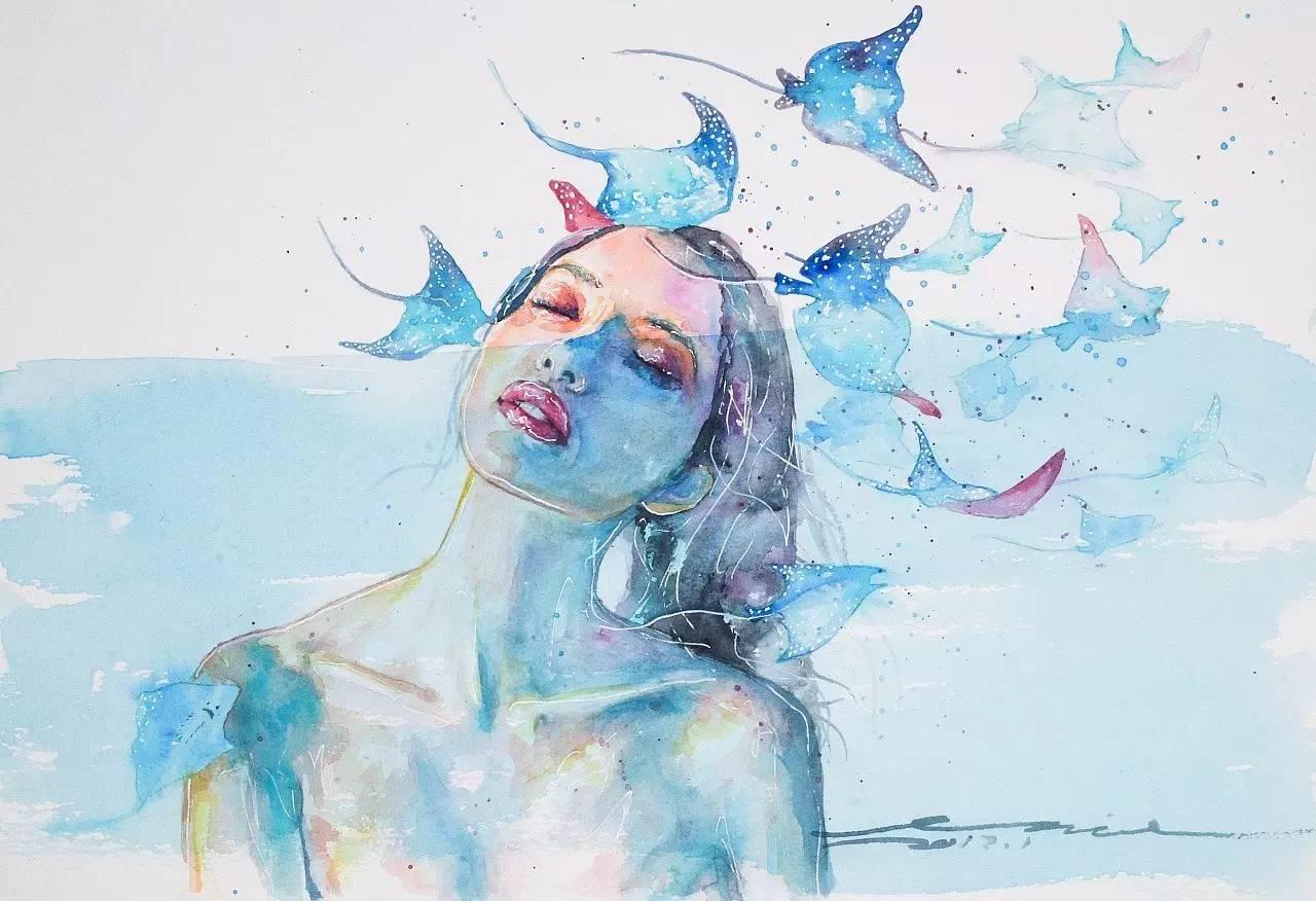 文化 正文  看看他画的风景吧 艺术家 julia barminova  她的风景画也
