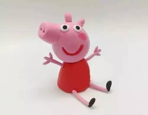 粘土制作可爱动物猪