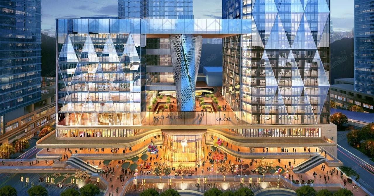 """【运用空间】三维玖钻建筑设计:""""龙光城市立体城市""""的设计,悬浮办公建筑设计规范有新版吗图片"""