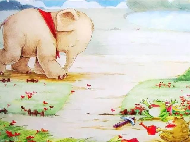 小七讲故事 小象的心愿,善良又可爱的小象