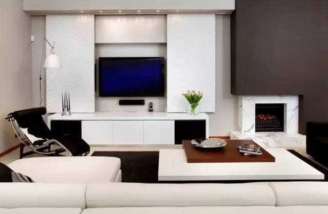 悬挂式还是嵌入式 电视背景墙怎么选?图片