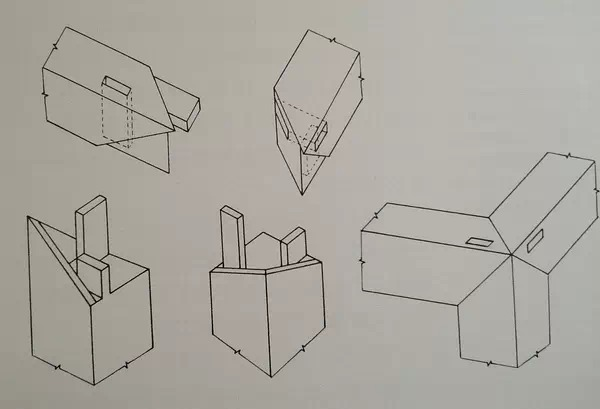 王世襄先生手绘85种榫卯结构
