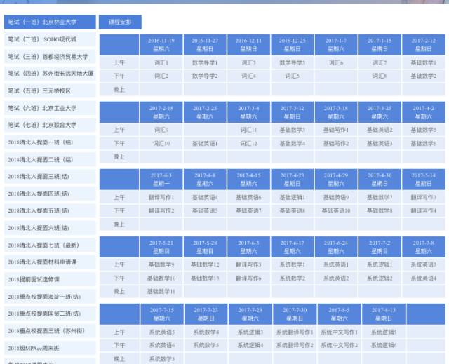 公众号,底部菜单栏--微官网--课程安排,进入后包含各个班级课表,选择图片