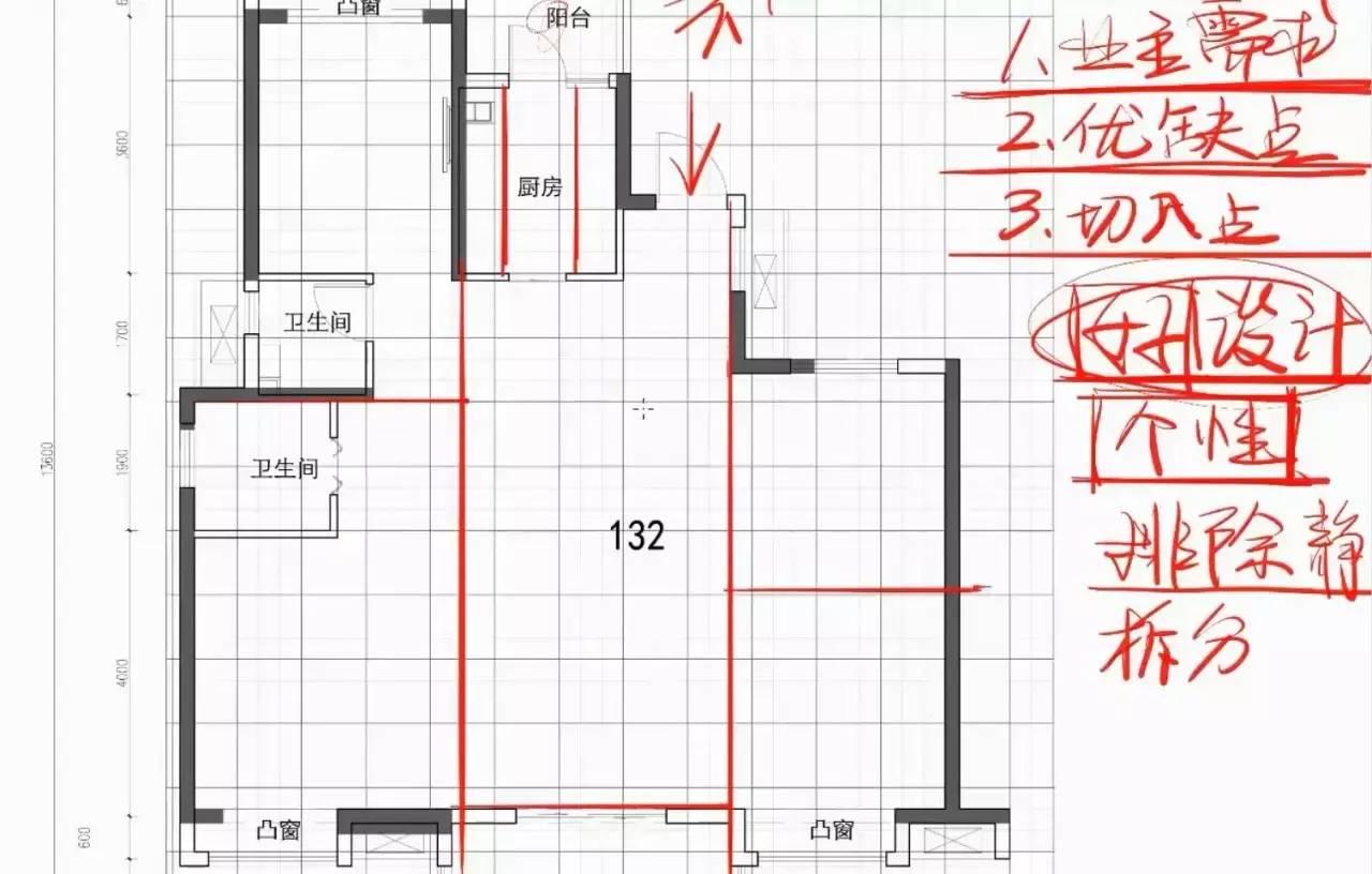 平面布置设计流程和技巧