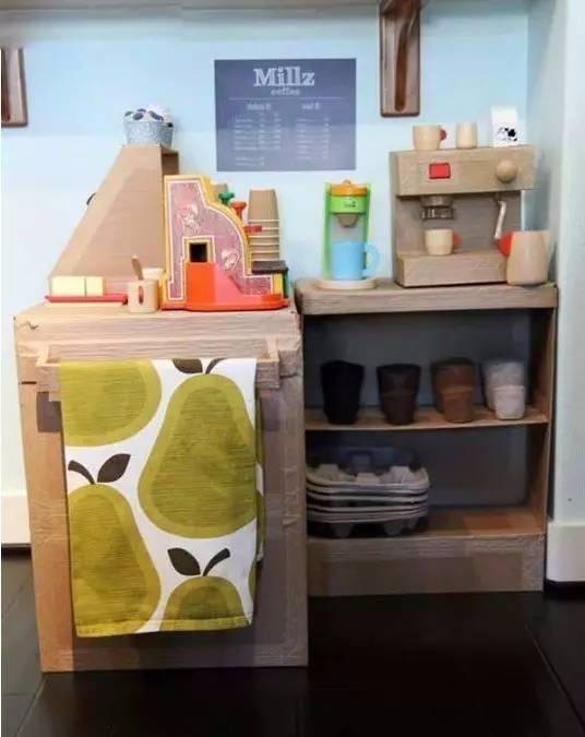 纸箱手工制作厨房简单