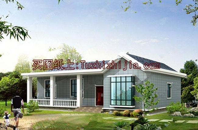 新外观自建上海规划建筑图,布局合理,农村精致平房开艺建筑设计有限公司施工是甲图片