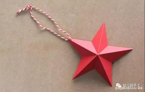 胶水 制作步骤图解: 美妙的星星,总能让人引发无限幻想 这样简单的折