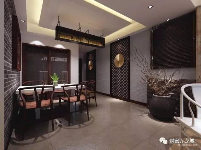 新中式房屋装修效果图